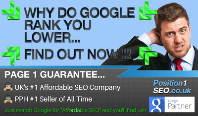 SEO Audit  ***Google Page 1 Guarantee***  - UKs #1 SEO Company - Phase 2 of 12