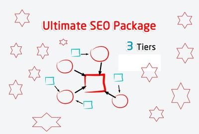 Get Ultimate SEO Package - Link building Campaign 3 Tiers