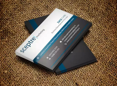 Design outstanding 2-side business card in 24 hrs
