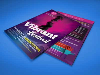 Design a professional looking trifold Flyer