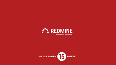 Install Redmine 3 project management system on your server/cloud in 15 minutes