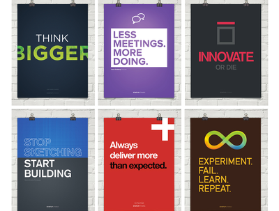 Create a customised motivational poster design for your business, gym, church, class