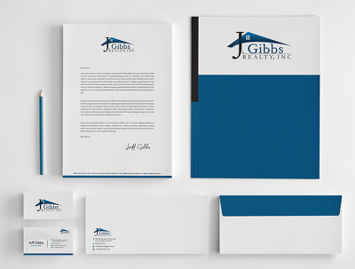 Stylish & professional Business card -compliments slip and letterhead