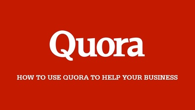 Do Quora Marketing for your healthcare products and also for your company