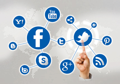 Create graphics for 2 social networks  of your choice