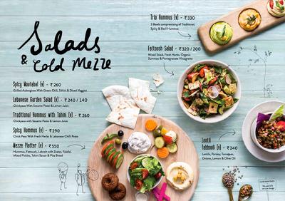 Design a menu for your restaurant / shop / cafe
