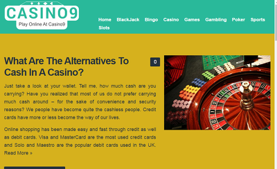 Write a blog post about CASINO and guest post it on a niche-website DA31