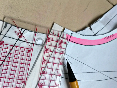 Cut an accurate manual pattern from any garment or sketch
