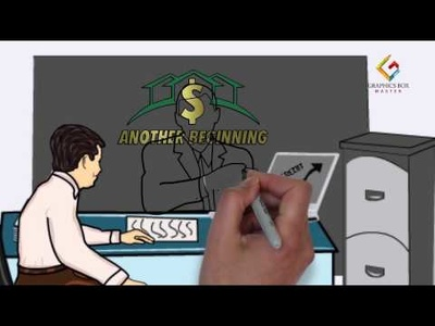 Create whiteboard animation of 1 minute  length