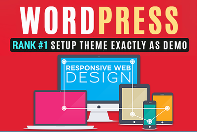 Install WordPress + One Premium Paid Themes With Demo Sample