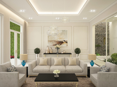 Do 3D visualization for an interior view for you