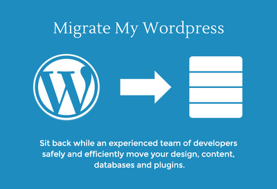 Migrate wordpress website from one host to another host