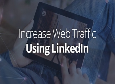 Bring 9000 unique LinkedIn marketing connection organic traffic to your website SEO