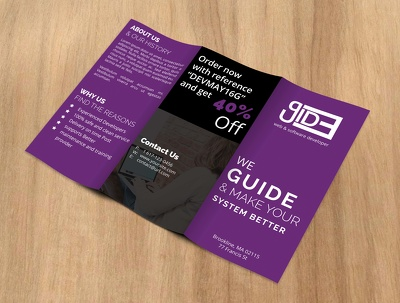 Design Tri-fold Brochure or Leaflet