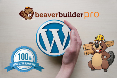 Create a WordPress Website using Beaver Builder Pro plugin and BeaverBuilder Theme