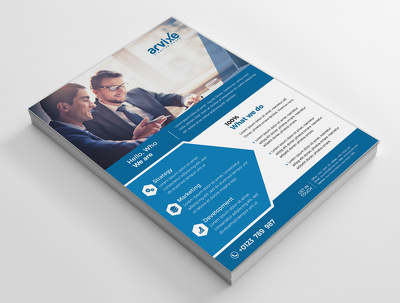 Design Flyer/Brochure/Poster/Leaflet with unlimited revisions