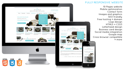 Design and develop responsive, SEO friendly website