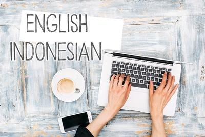 Accurate translation of 500 English words (or more) into Indonesian / vice versa