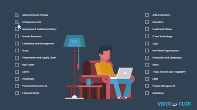 Create Flat Design 2D Explainer Video