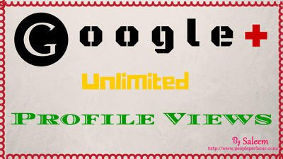Give 2000 Google Plus HQ Followers & 10000 Profile Views