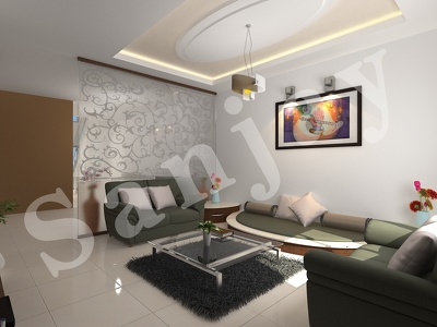 3d interior house,apartment,offices and restaurants realistic 3D render