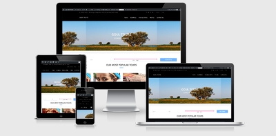 Create an attractive website for your tour company