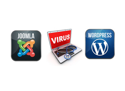 Remove malware/virus from Wordpress/Joomla site