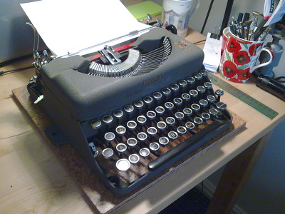 Typewritten, One-Page, Unique Poems, Typed, on a Typewriter.