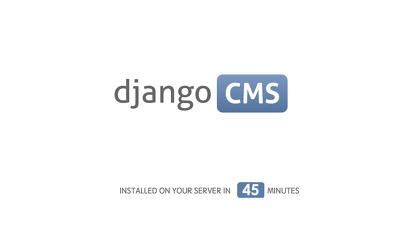Install Django-CMS on your Ubuntu server in 45 minutes