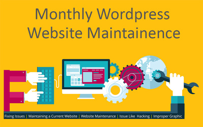 Provide wordpress website maintainence