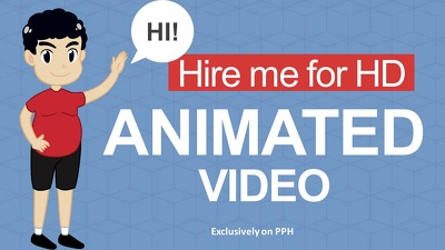 Make 60 seconds intro video animation in HD for your Business product or Service