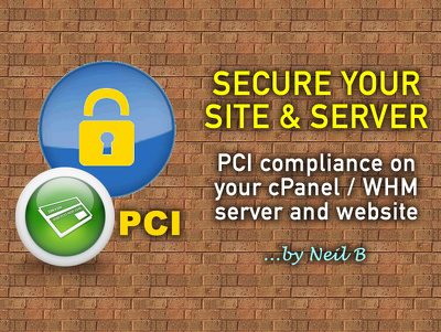 Make your cPanel / WHM server and website PCI compliant