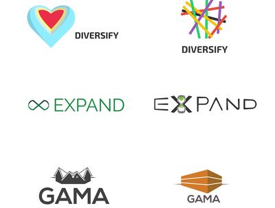 Handcraft a visual identity ( logo design )