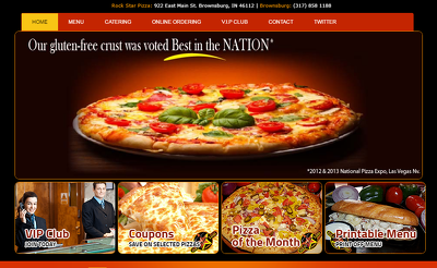 Design/Develop Online Food Website