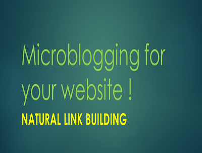 Do MicroBlogging with 3 updates daily quality content, links and keywords  for 5 days