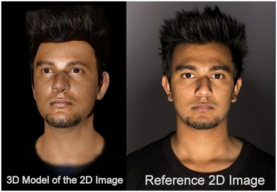 Design 3D replica model of human from Photos