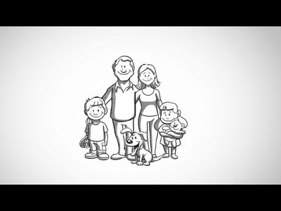 Create a cartoon/hand drawn style animated explainer video