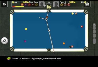 reskin a Pool Billiard Game (Android Build ) in Unity 3d.