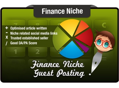 Write a Guest Post on a Finance Niche Site