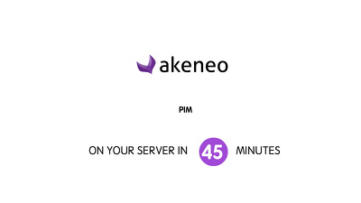 Install AKENEO product Information management system based on symfony 2 in 45 minutes