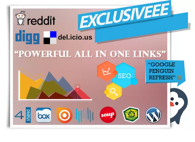 Create Powerful All in One Seo Friendly Backlinks to improve your SERP