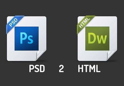 Convert your psd into a fully functional website