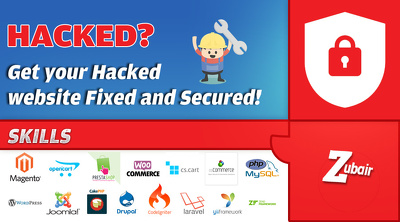 Fix your hacked website, and secure it within 24hrs!