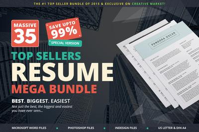 Deliver Top Sellers Resume Mega Bundle