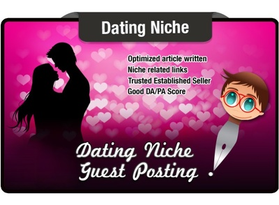 Write and Blog Post a DATING niche article on a 7 yr Old Site