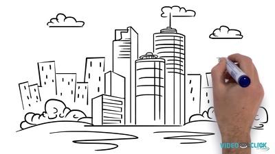 Create whiteboard/ hand drawn animated videos