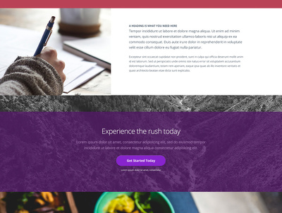 Design a detailed PSD for your responsive website 5 pages