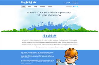 Build Professional Custom Designed Responsive Wordpress CMS Website
