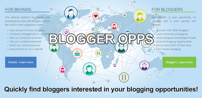 Send your blogger opp out to our opt-in database of bloggers