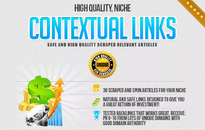 Create 6000 contextual niche related links